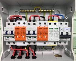 Cách đấu dây Tủ điện năng lượng mặt trời 5kw