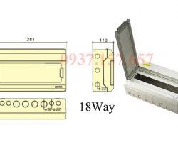 Các kích thước tủ điện solar thông dụng